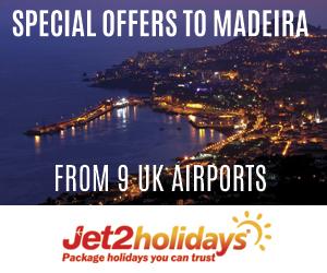 Jet2 Madeira 300x250