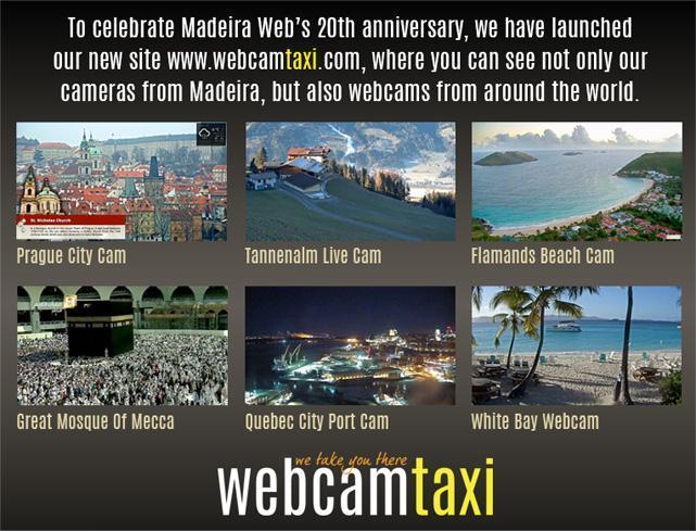 Madeira Webcam Pico Fortress